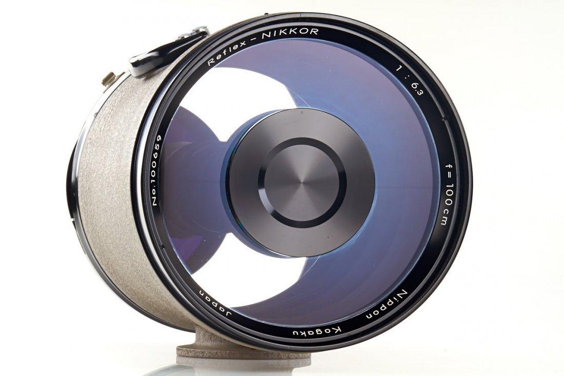 Nikon  6.3/100cm Reflex-Nikkor grey *, c.1959, no. - 3