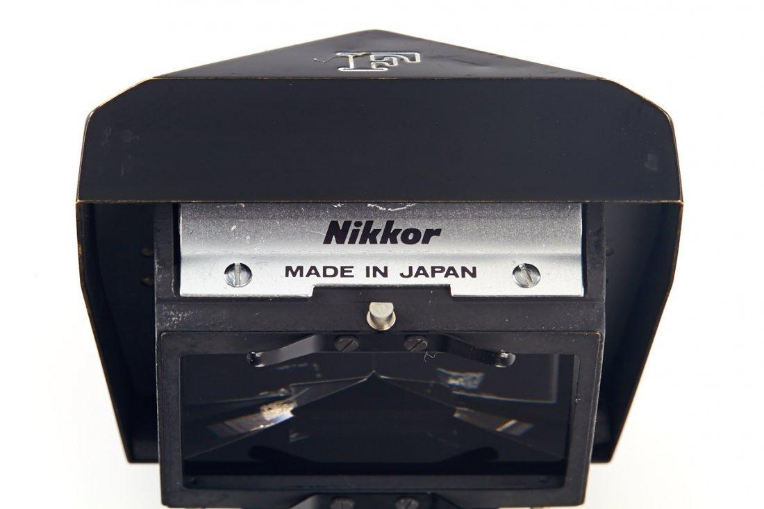 """Nikon F eyelevel finder black 'Nikkor"""", 1965 - 3"""
