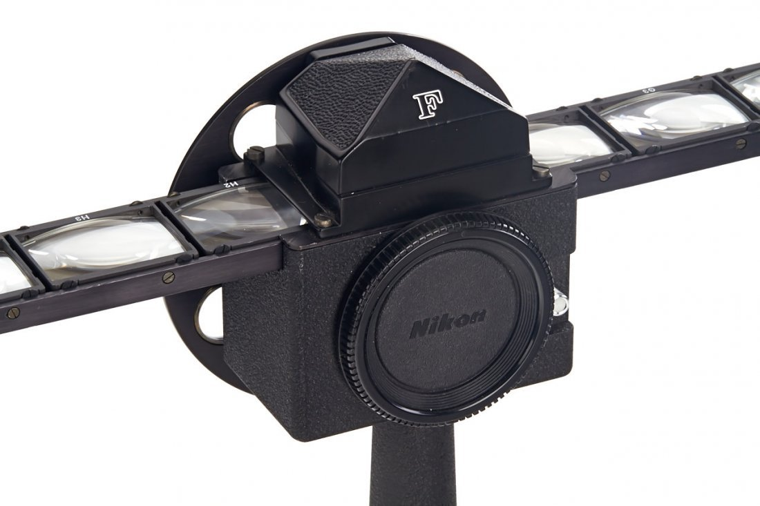 Nikon screen and ocular eyepiece tester for Nikon F, - 4