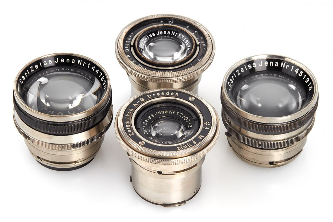 Carl Zeiss Jena Contax Lenses (various), 1930/33
