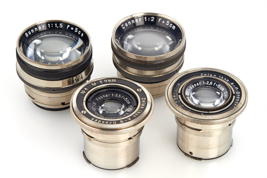Carl Zeiss Jena Contax Lenses (various), 1930/33 - 2