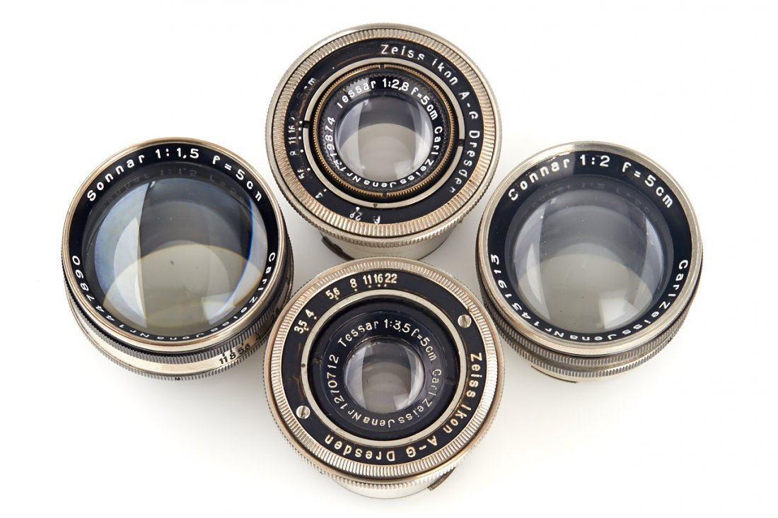 Carl Zeiss Jena Contax Lenses (various), 1930/33 - 3