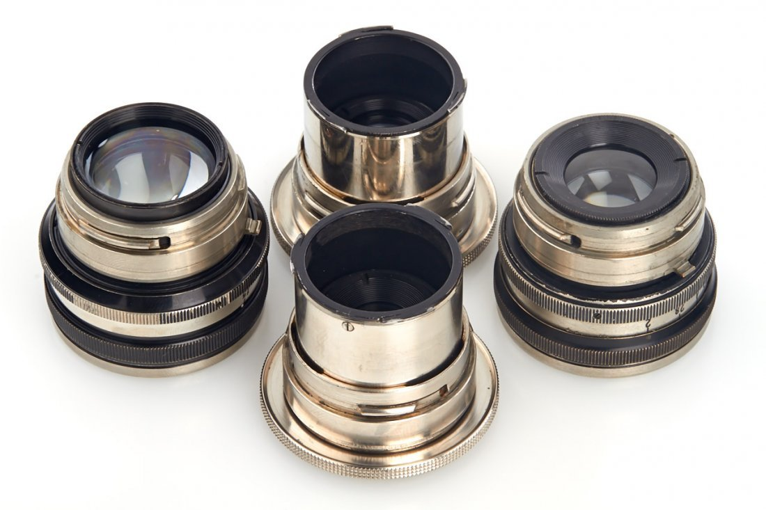 Carl Zeiss Jena Contax Lenses (various), 1930/33 - 4