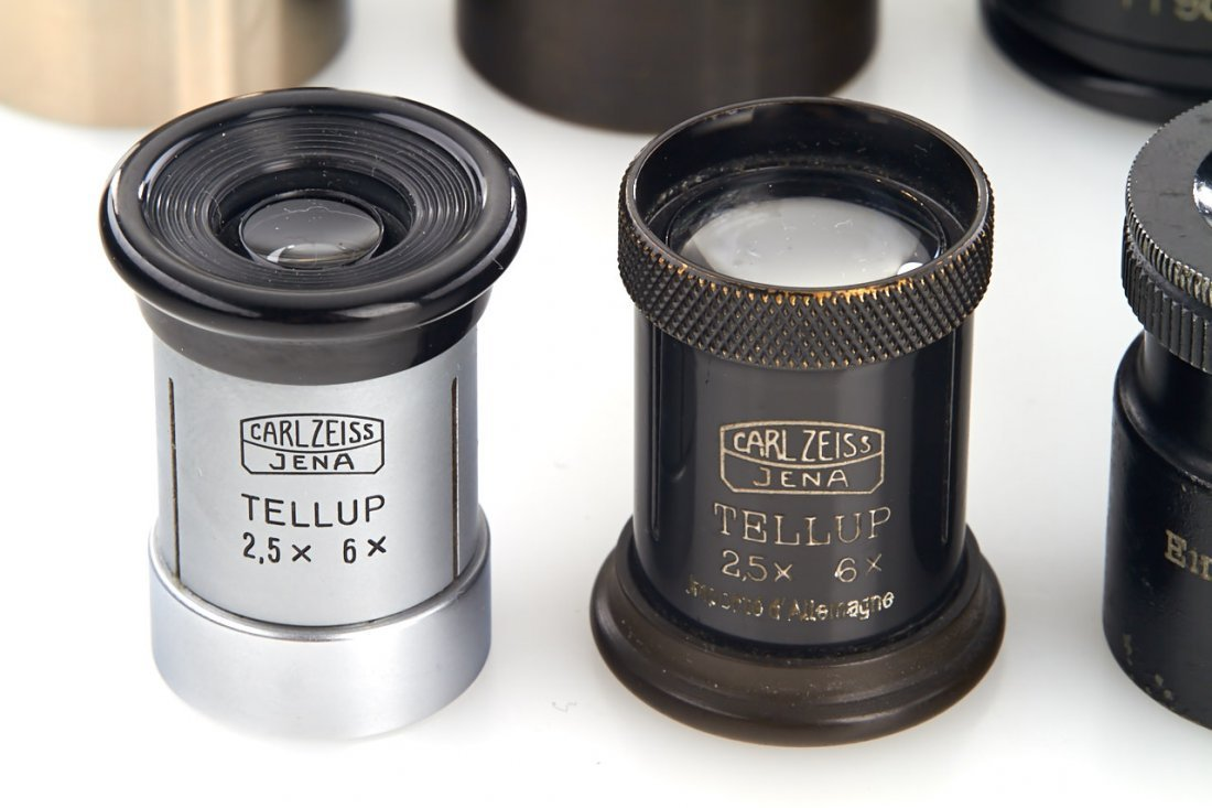 Zeiss Ikon Magnifying Loupes (various), 1920-60 - 2