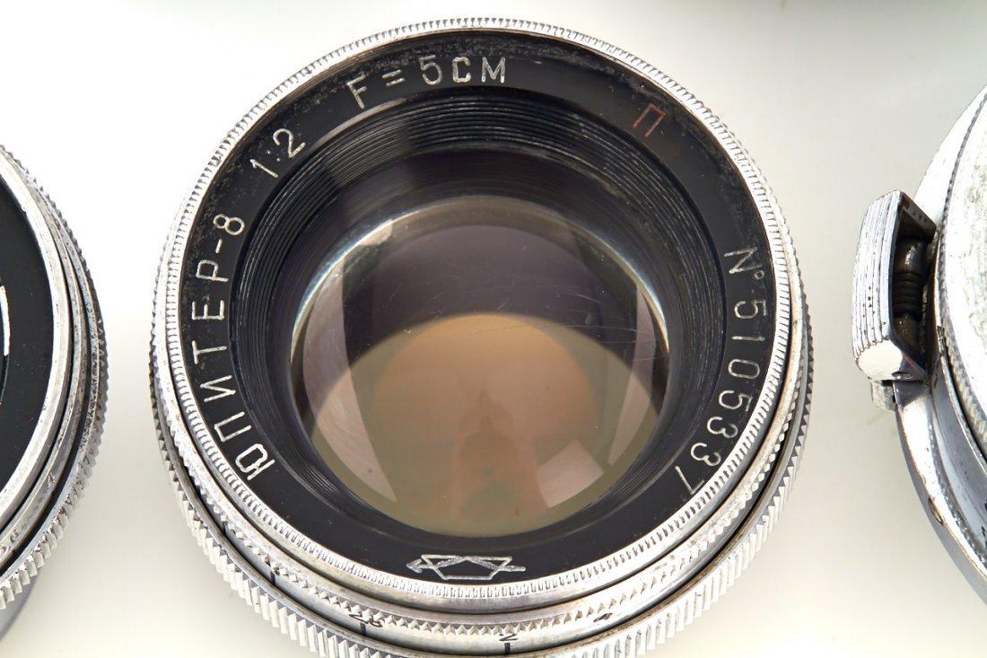 Russian Lenses (various), 1948/51 - 3