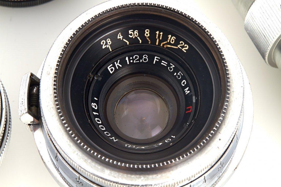 Russian Lenses (various), 1948/51 - 4