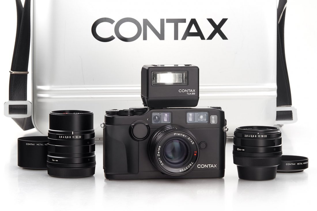 Contax G2 black outfit *, c.1997, no. 41685