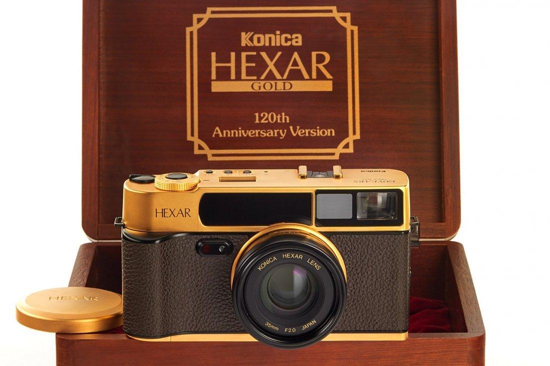 Konica Hexar AF Gold *, 1993, no. EG0000018