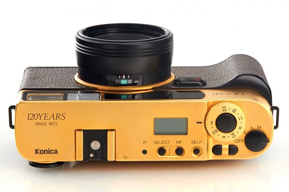 Konica Hexar AF Gold *, 1993, no. EG0000018 - 5