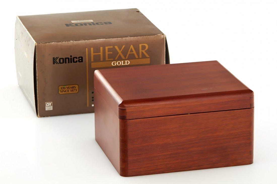 Konica Hexar AF Gold *, 1993, no. EG0000018 - 7