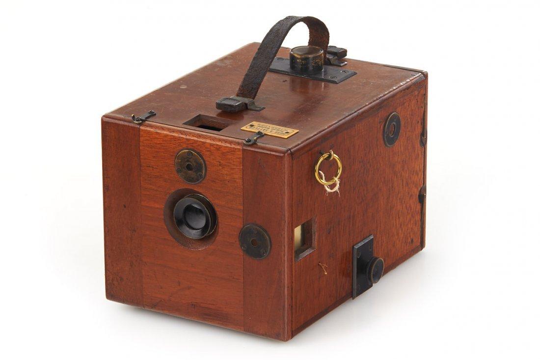 Hess & Sattler Detective Camera, c.1900