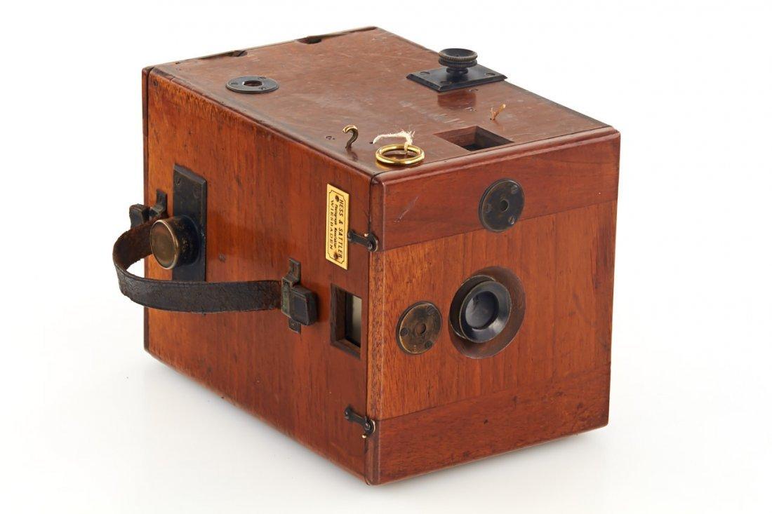 Hess & Sattler Detective Camera, c.1900 - 2