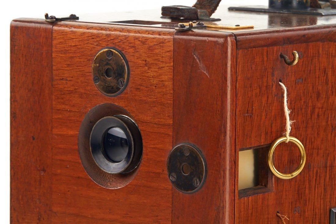Hess & Sattler Detective Camera, c.1900 - 3