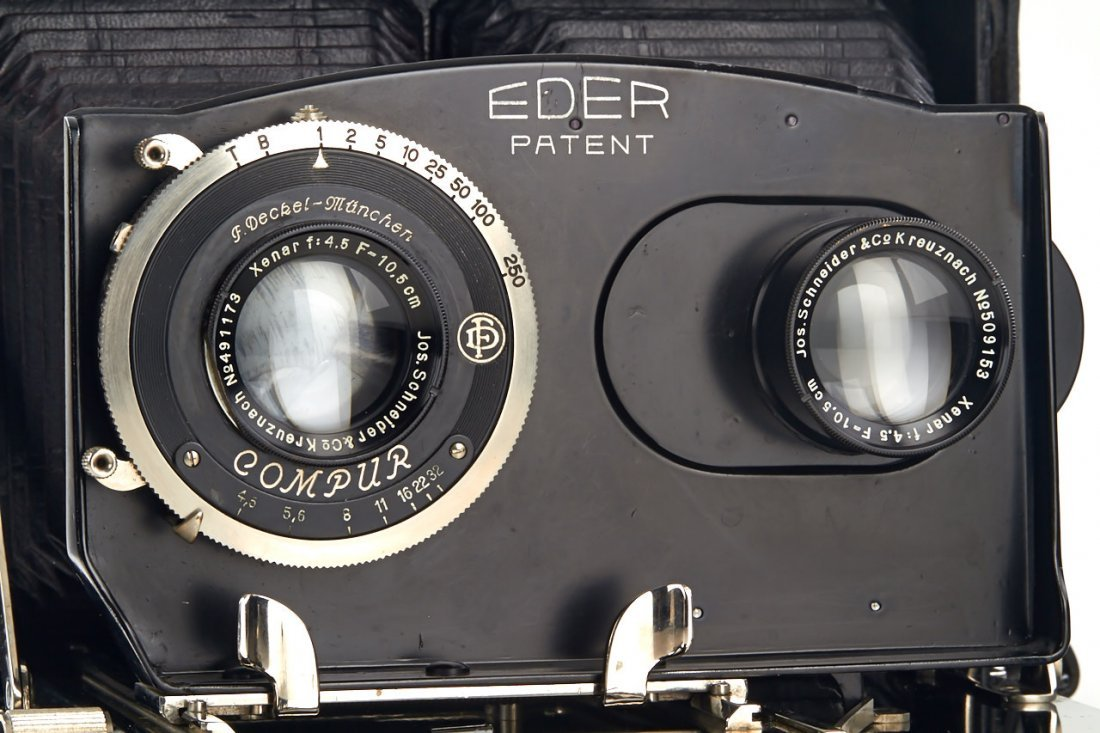 Eder Patent Camera, 1933, no. 116 - 3