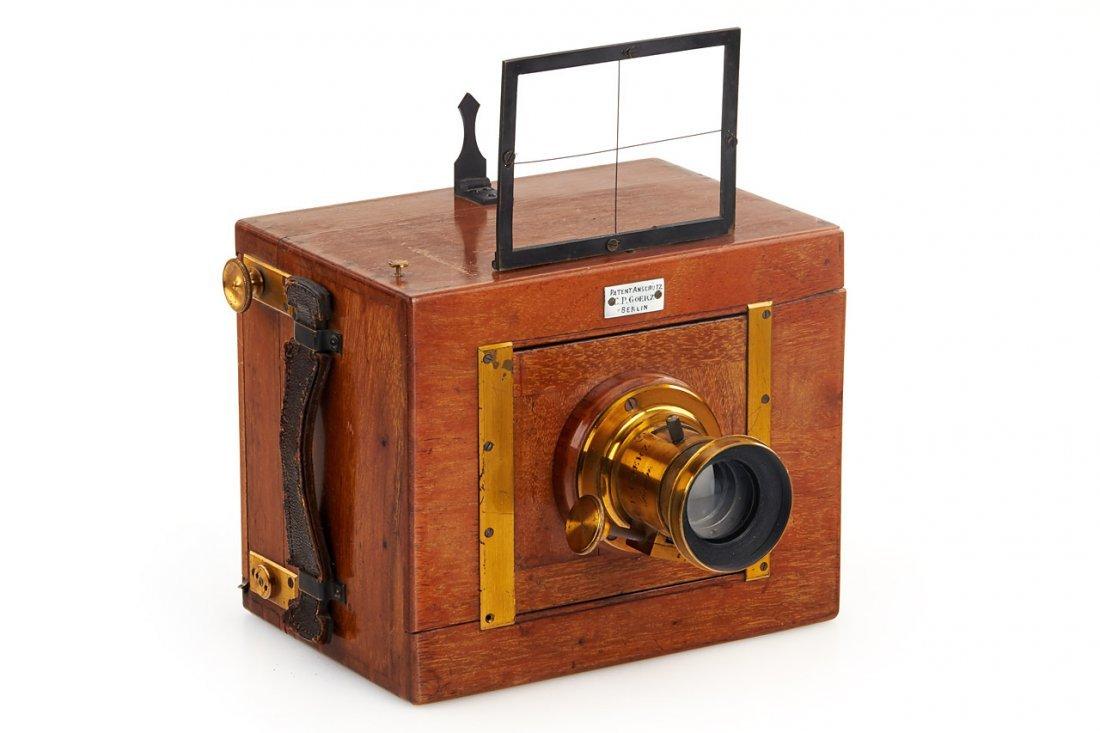 Goerz  Anschütz  Detective Camera, c.1890