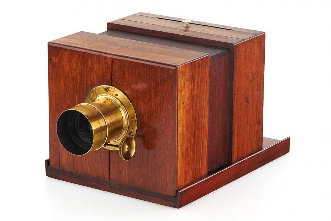 Sliding-Box Daguerreotype Camera *, c.1845