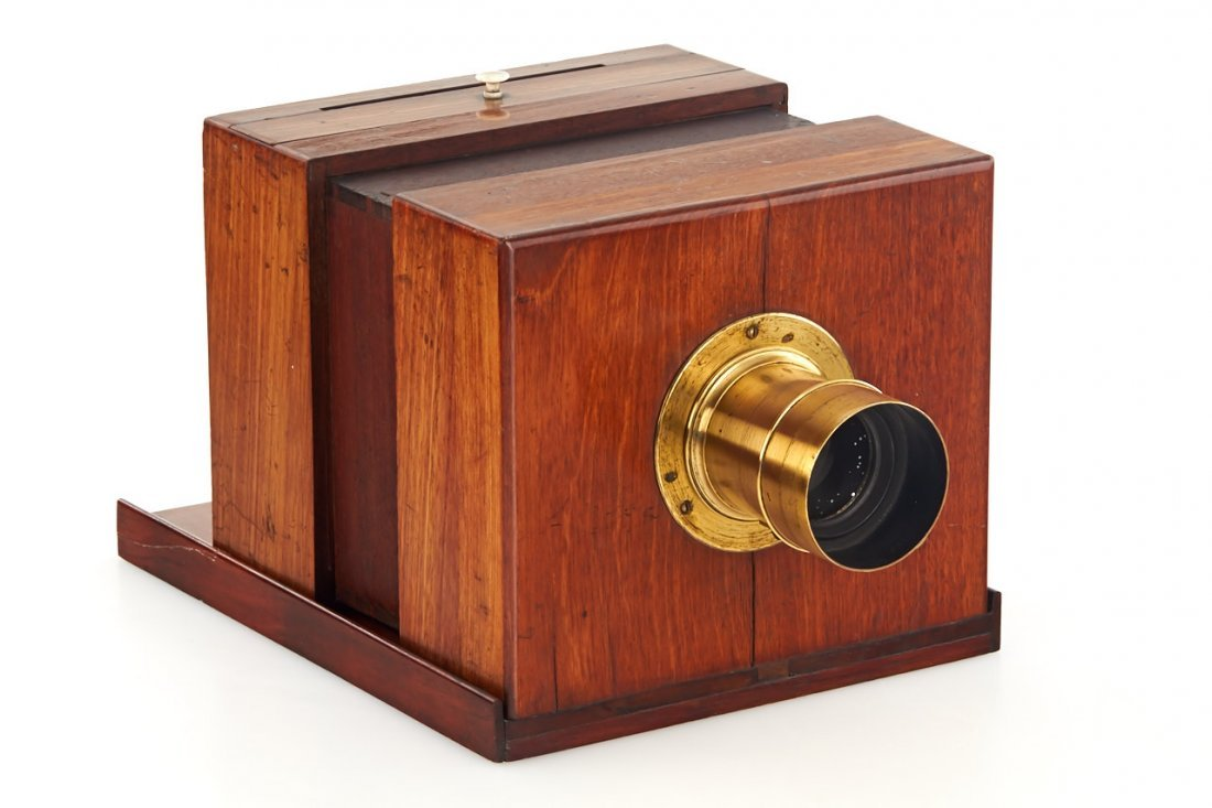 Sliding-Box Daguerreotype Camera *, c.1845 - 2