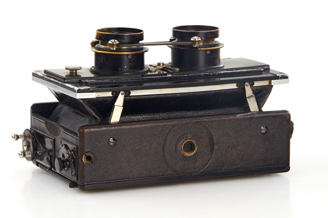 Goerz Anschütz Stereo, c.1900, no. 15702 - 5