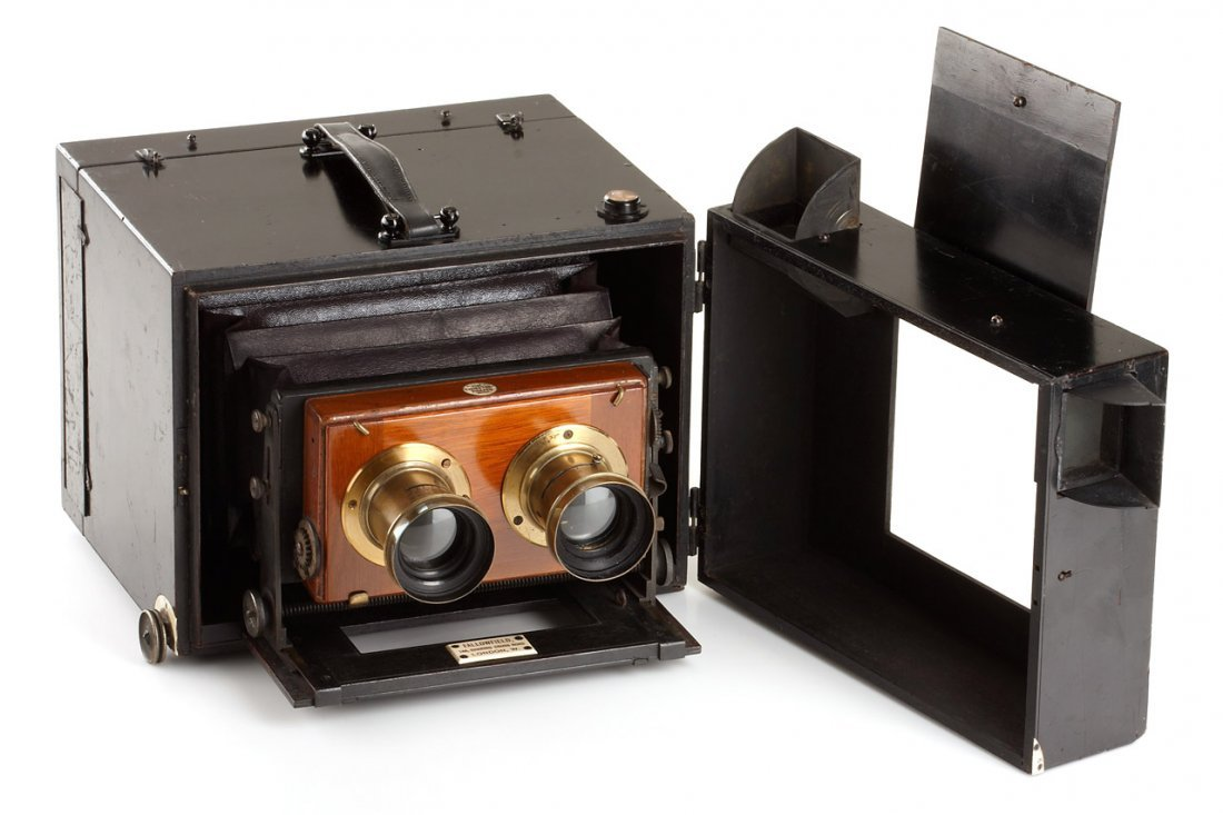 J.Fallowfield  Stereo Detective Camera, c.1890