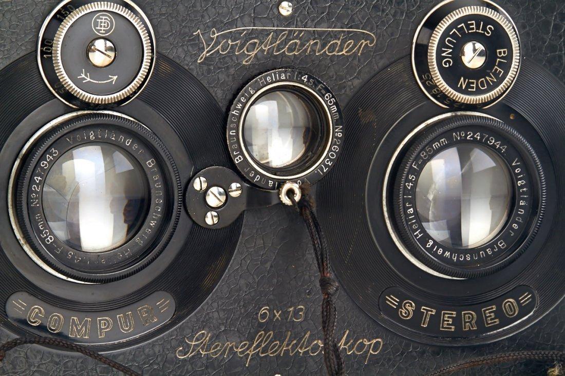 Voigtländer Stereflektoskop 6x13cm, c.1925, no. 74782 - 2
