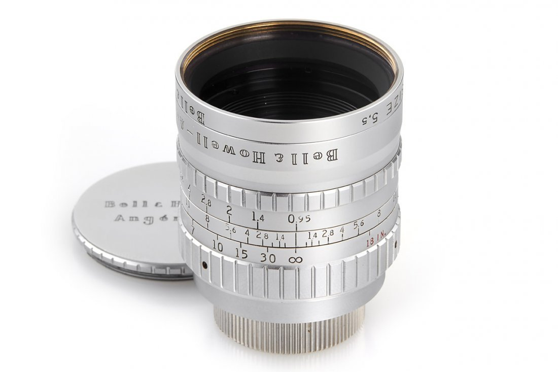 "Angenieux 0.95/1"" (25mm), 1958, no. 552508"