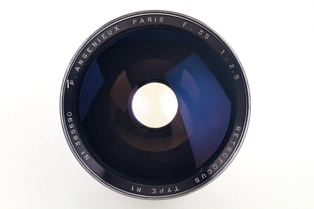 Angenieux Retrofocus Type R1 2.5/35mm, 1955, no. 385690 - 3