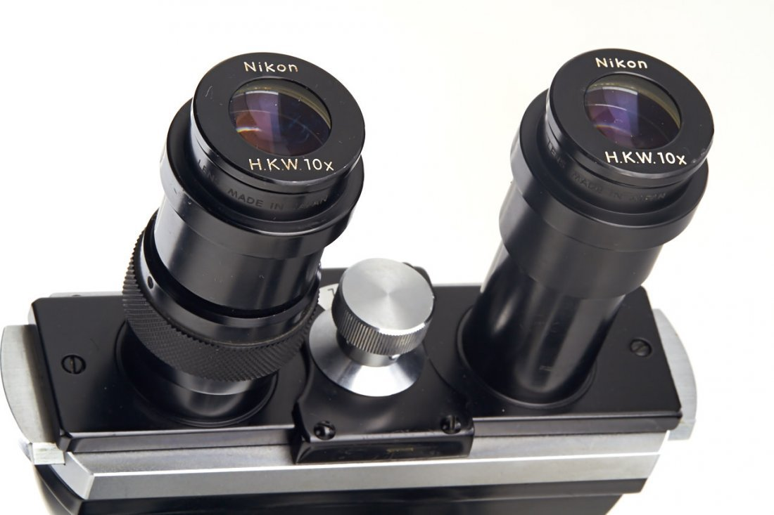 Nikon Model S Binocular Microscope, c.1970, no. 84761 - 2