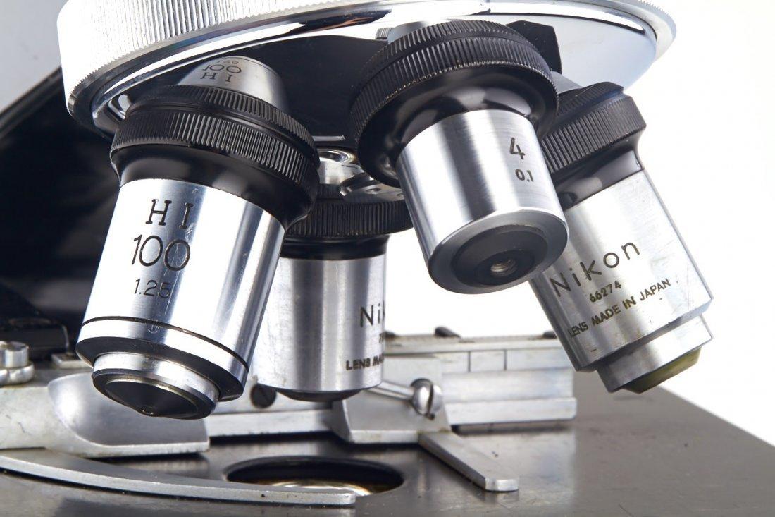 Nikon Model S Binocular Microscope, c.1970, no. 84761 - 3