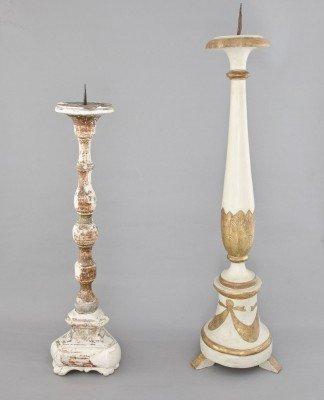 Italy, late XVIIIth / XIXth c. candelabras