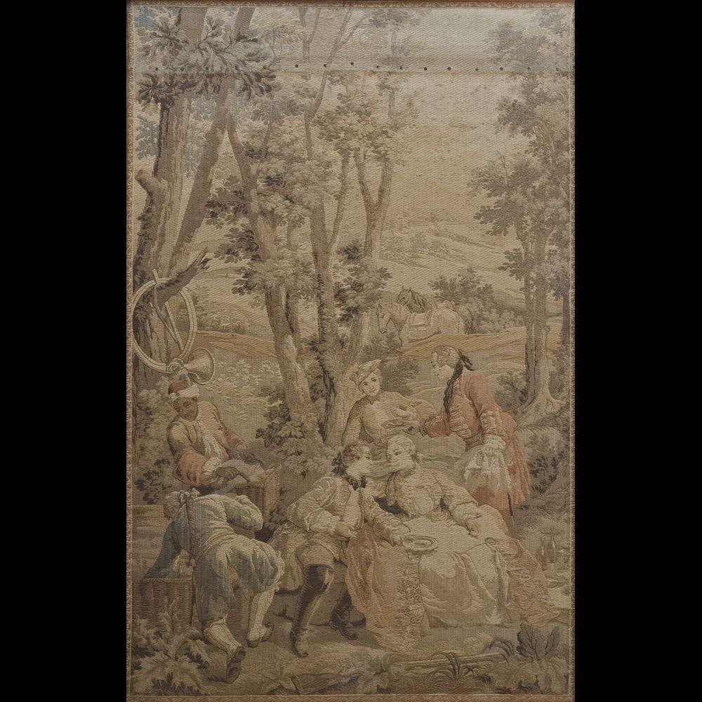 Netherlands, XVIII-XIXth century Tapestry