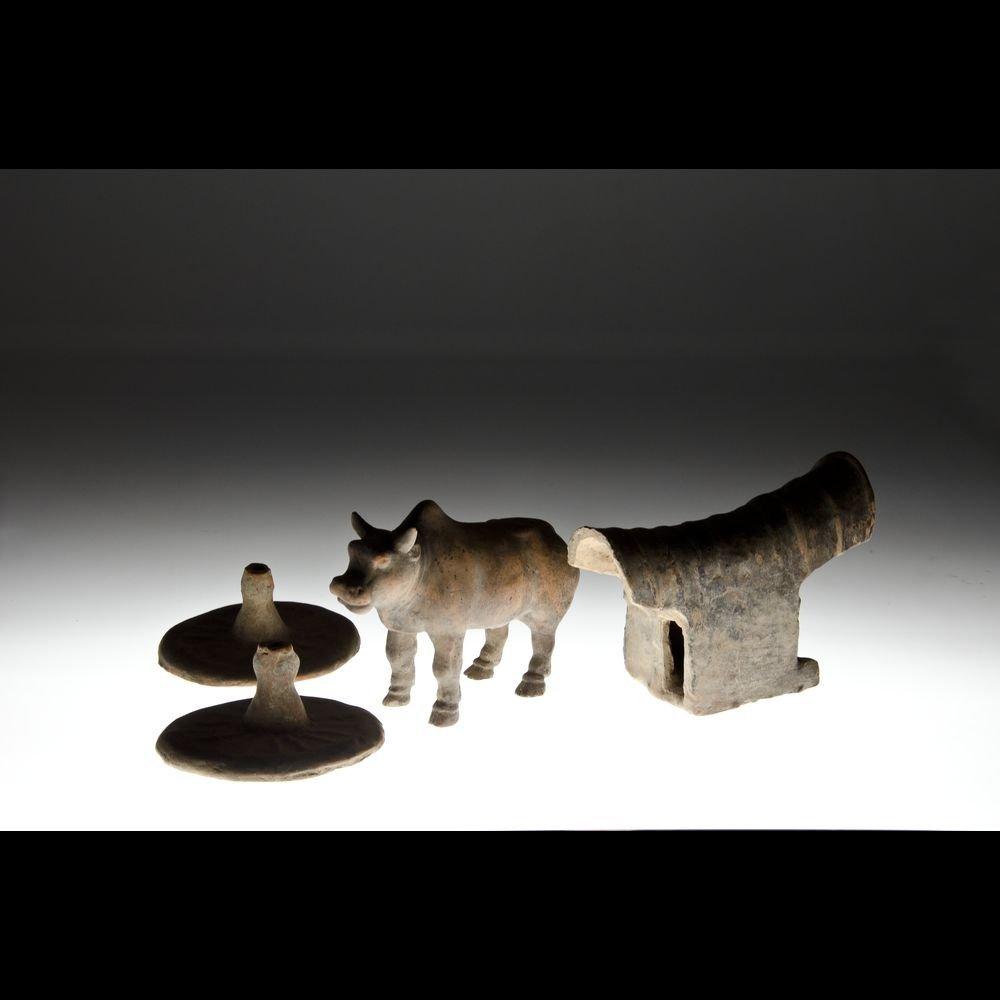 CHINA TANG Dynasty - Terracotta group