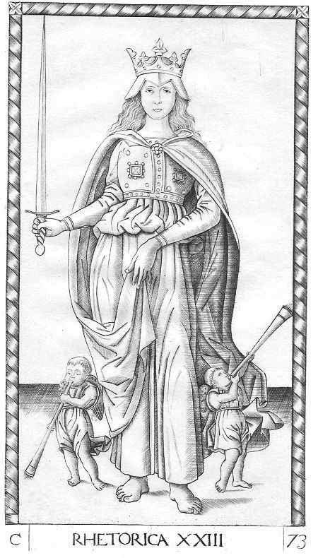Andrea MANTEGNA (Italy 1431-1506) - Rhetorica
