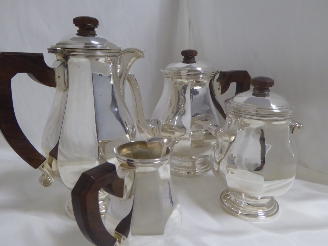 4 pieces silver plated Tea / Coffee set