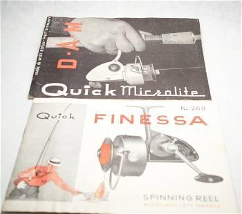 Pair of DAM Quick Manuals