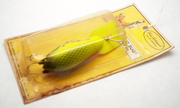 13: Arbogast Mudbug Lure on card