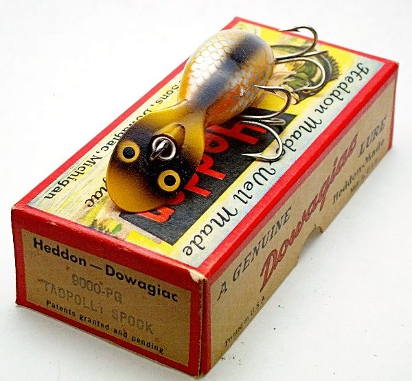 17: Heddon Tadpolly Lure in box