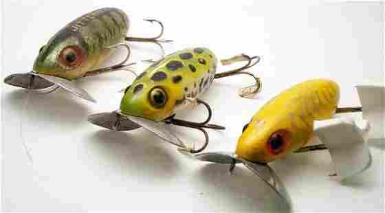 3- Arbogast Jitterbug Lures