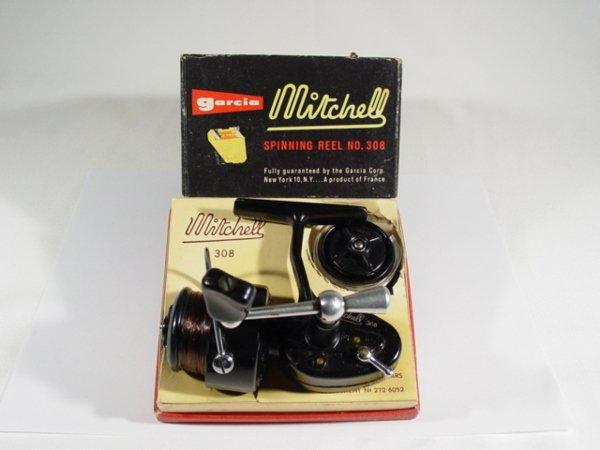 9: Garcia Mitchell 308 Reel w/t Box