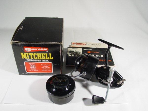 10: 1977 Garcia Mitchell 300 Reel w/t Box