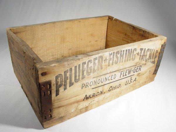 386: Wooden Pflueger Crate