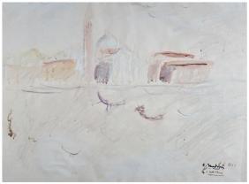 PITTORE INIZI XX SECOLO Venezia E.F. XIII 1935