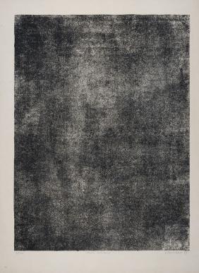 JEAN DUBUFFET 1959 Litografia cm 65 x 50