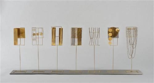 FAUSTO MELOTTI Tema III e variazioni 1969/72 Scultura