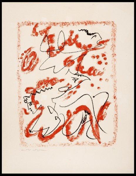 113 ANDR MASSON Balagny 1896 - Paris 1987 Untitled