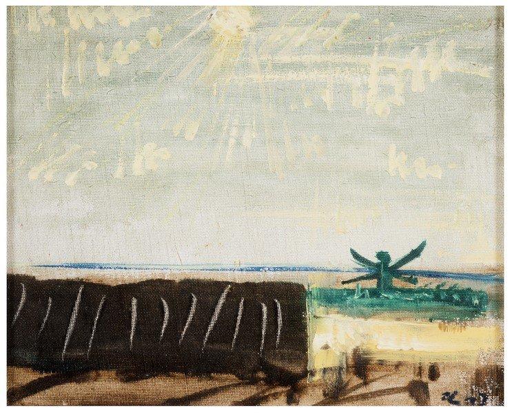123 ANDRE 'MASSON Balagny 1896 - Paris 1987 Landscape