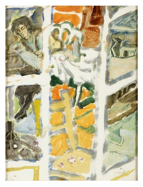 131 GIANNI VAGNETTI Florence 1897 - 1956 Untitled