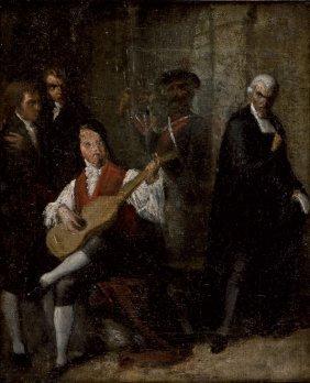 Pietro Longhi Venezia 1701 - 1785 Last Song