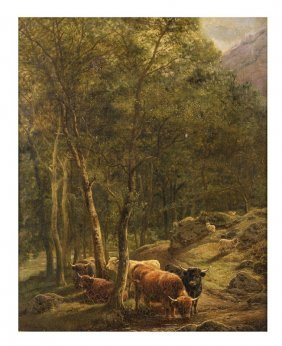 """William Watson """"herd In The Forest"""""""