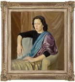 """PIETRO DODERO """"Portrait of Donna Matilde"""""""