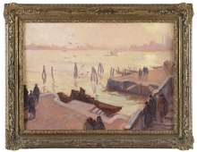 EMILE BERNARD View of Venice 1901